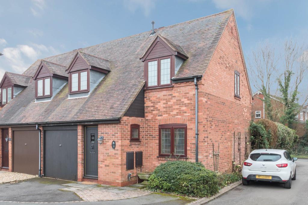 2 Bedrooms Semi Detached House for sale in Hillfield Mews, Solihull