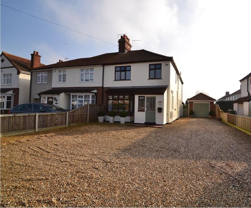 3 Bedrooms Semi Detached House for sale in Wroxham Road, Sprowston