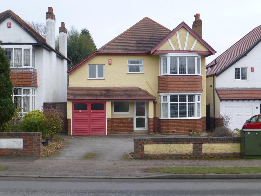 4 Bedrooms Detached House for sale in Danford Lane, Solihull