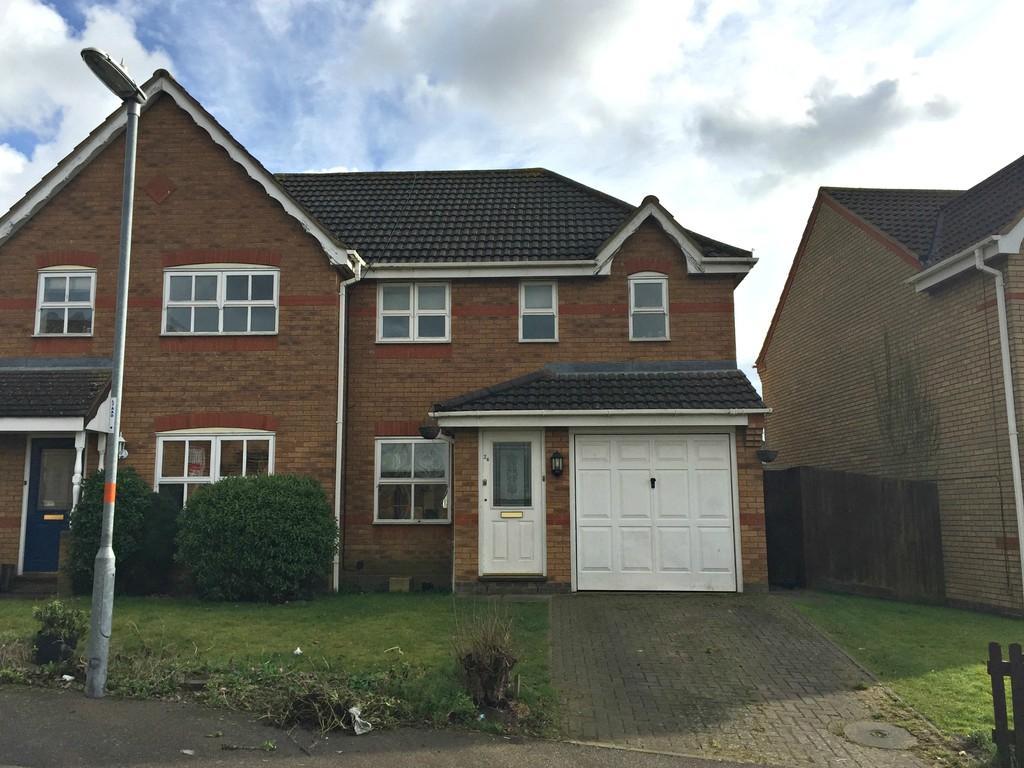 3 Bedrooms Semi Detached House for sale in Hans Apel Drive, Brackley