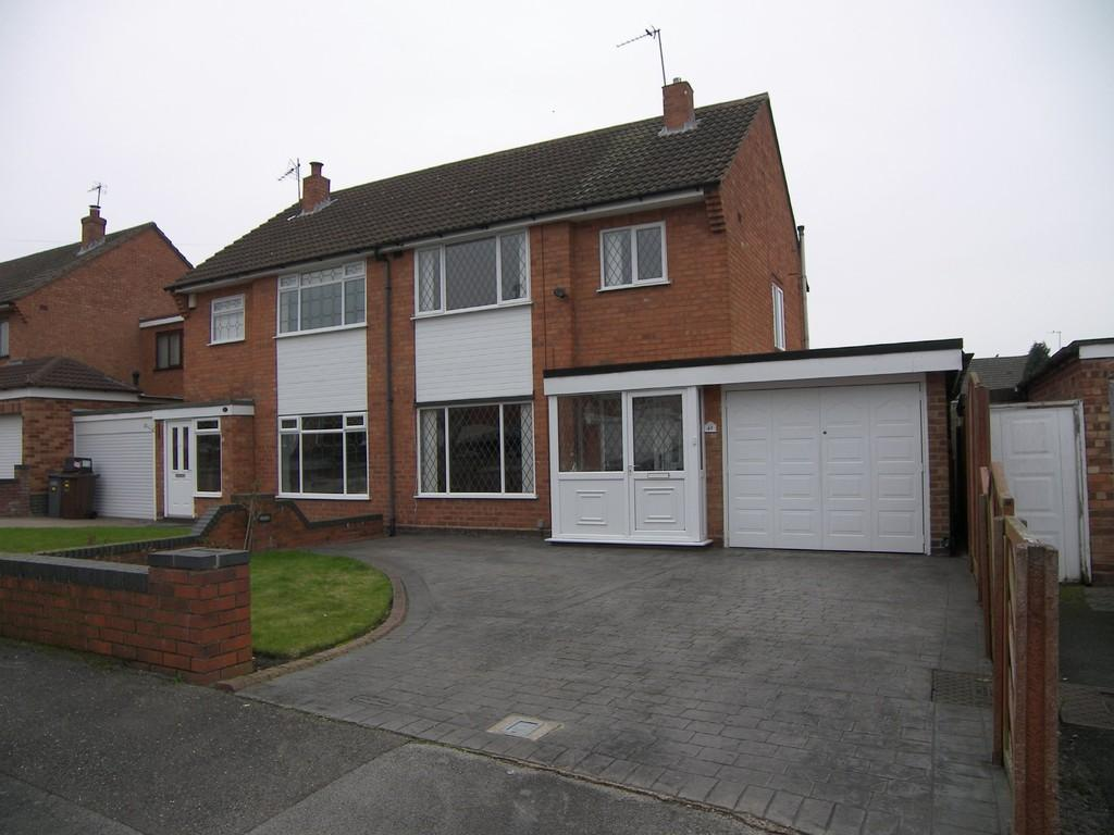 3 Bedrooms Semi Detached House for sale in Leam Crescent, Solihull
