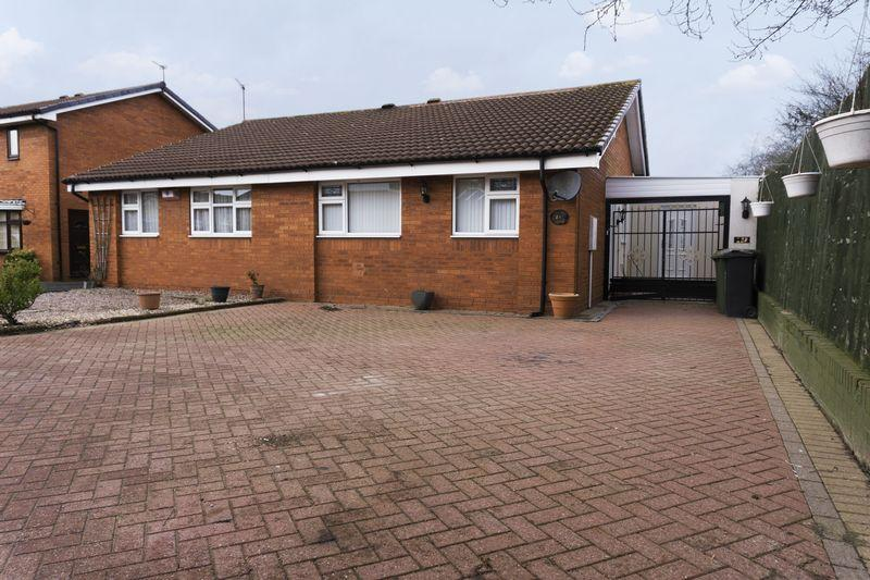 2 Bedrooms Semi Detached Bungalow for sale in Rischale Way, Rushall, Walsall.