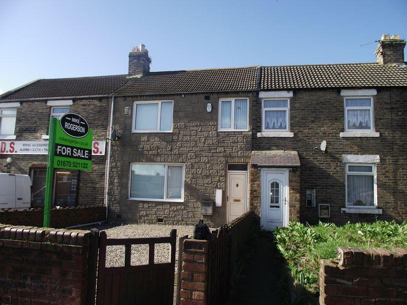 2 Bedrooms Terraced House for sale in Hawthorn Road, Ashington, Two Bedroom Terraced House