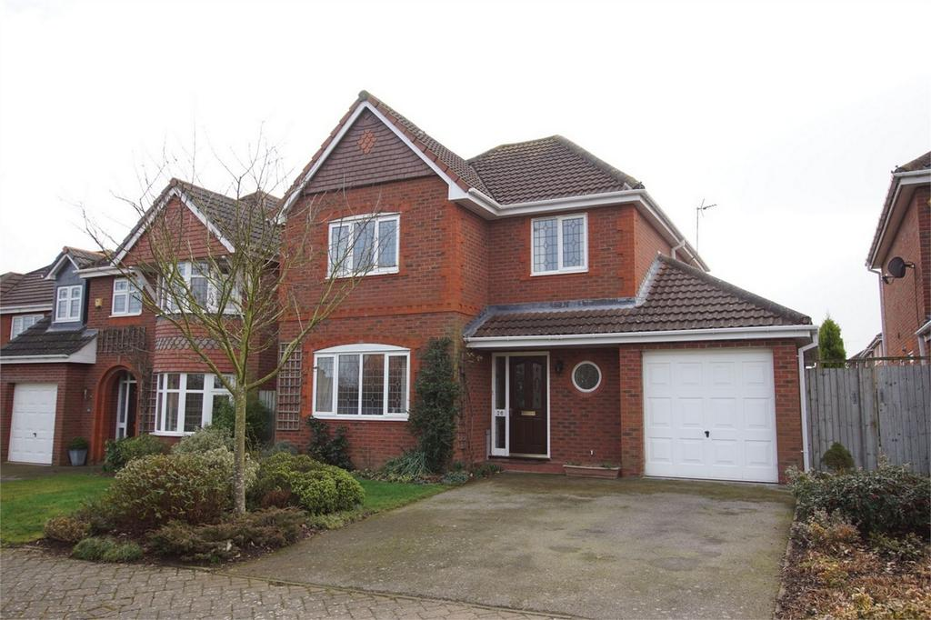 4 Bedrooms Detached House for sale in Jourdain Park, Heathcote, Warwick