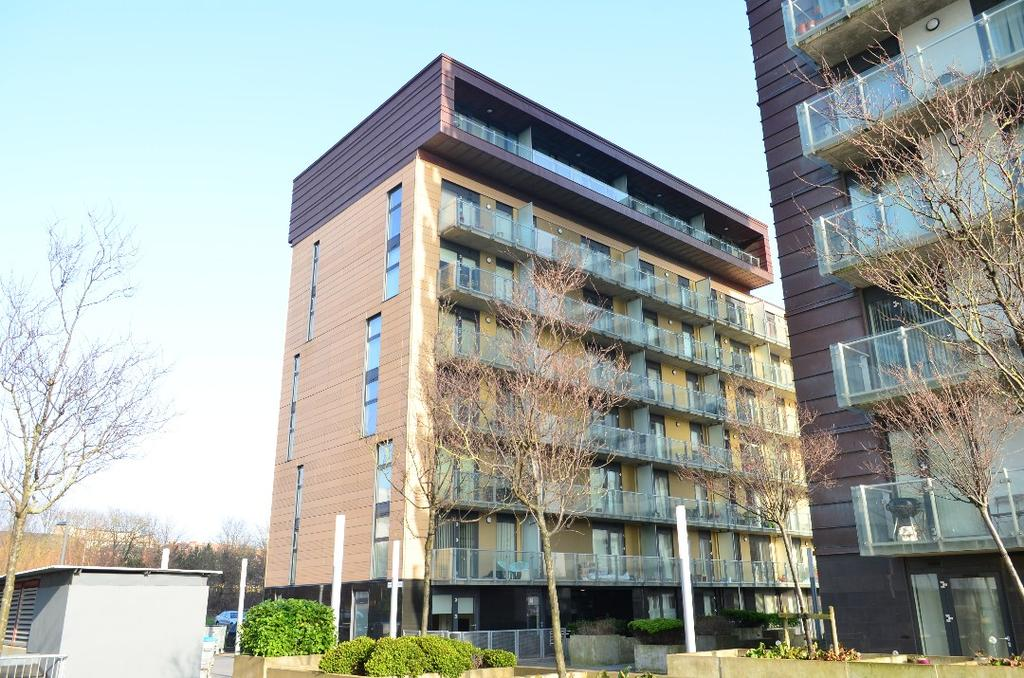 1 Bedroom Flat for sale in Glasgow Harbour Terrace, Flat 0/3, Glasgow Harbour, Glasgow, G11 6DJ