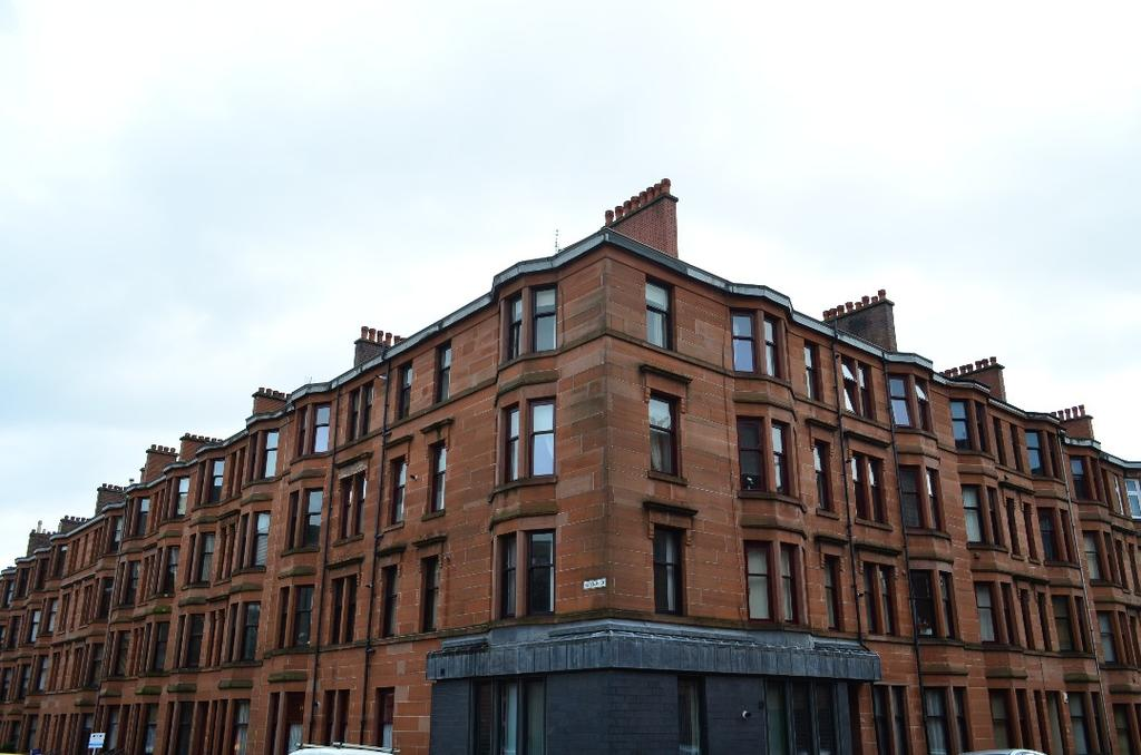 1 Bedroom Flat for sale in Exeter Drive, Flat 3/2, Partick, Glasgow, G11 7UX