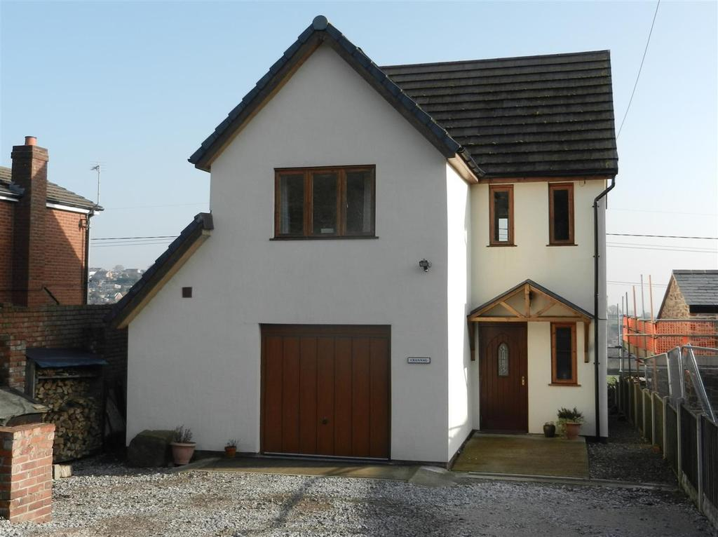 3 Bedrooms Detached House for sale in Wern, Bersham, Wrexham