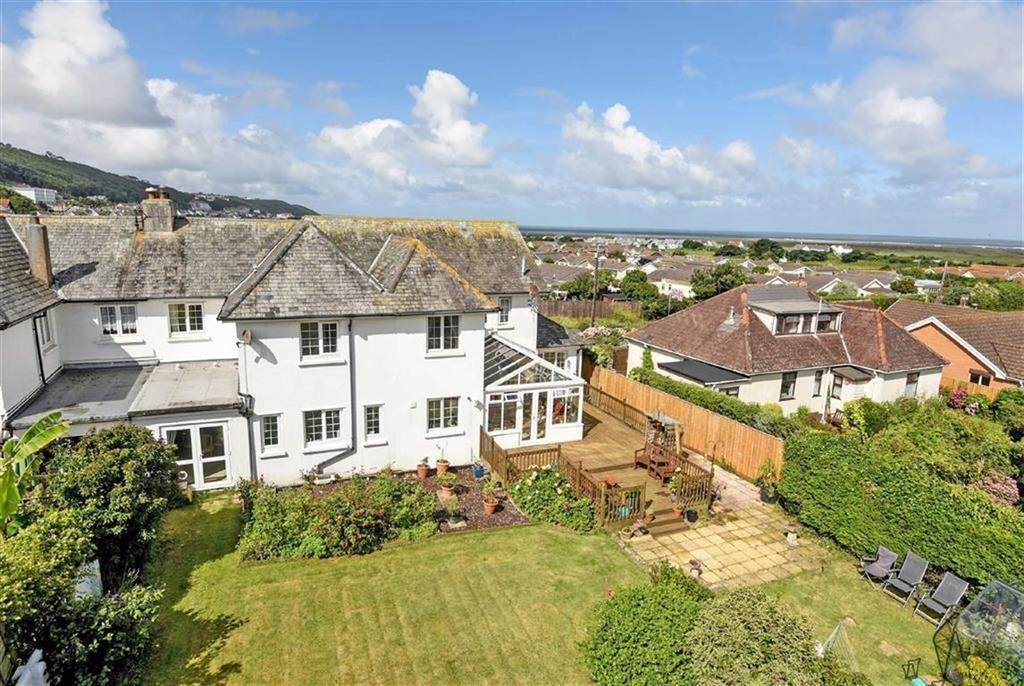 6 Bedrooms Semi Detached House for sale in Sandymere Road, Northam, Bideford, Devon, EX39