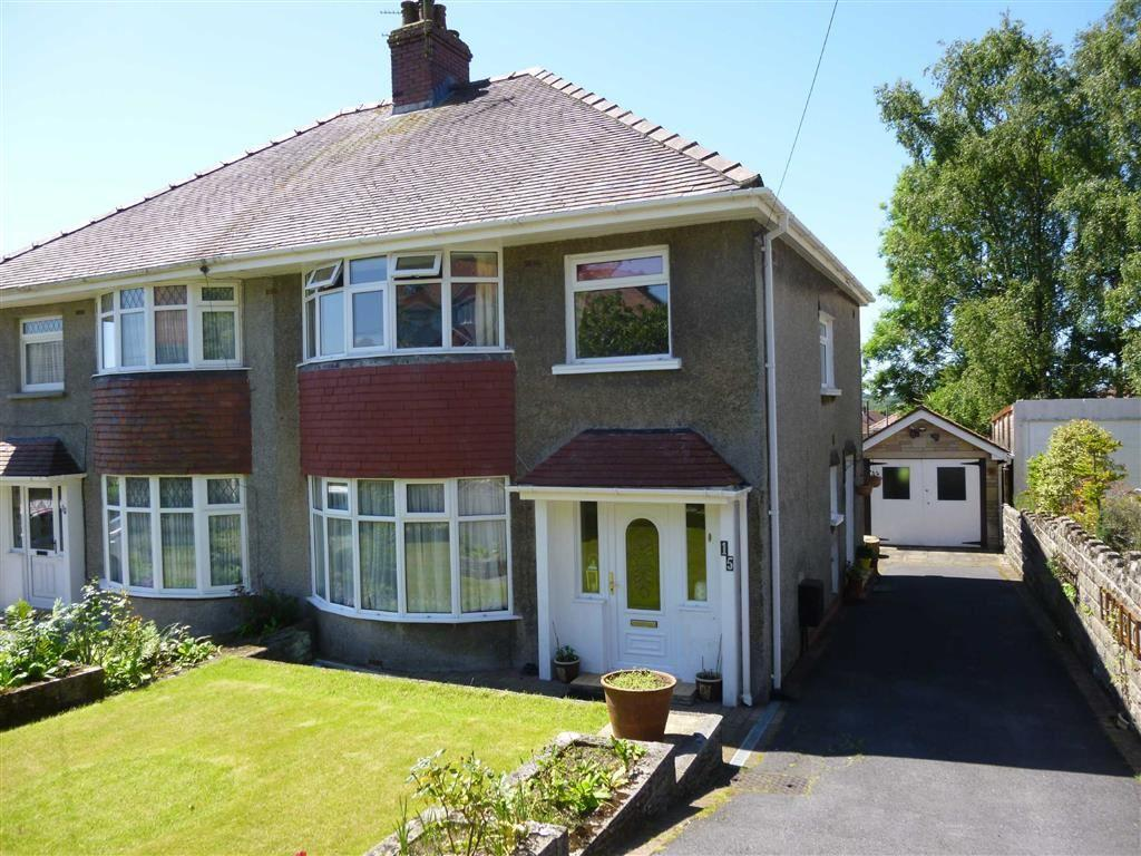 3 Bedrooms Semi Detached House for sale in Wimmerfield Crescent, Killay, Swansea