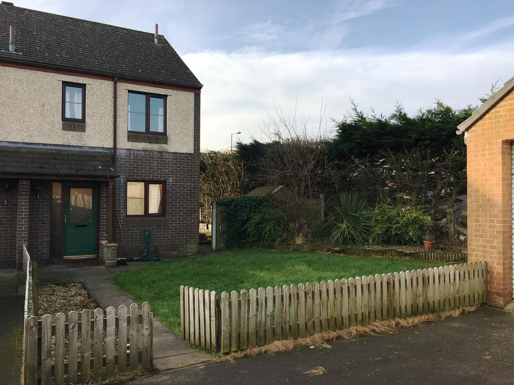 2 Bedrooms Terraced House for sale in The Hawthorns, Gretna DG16