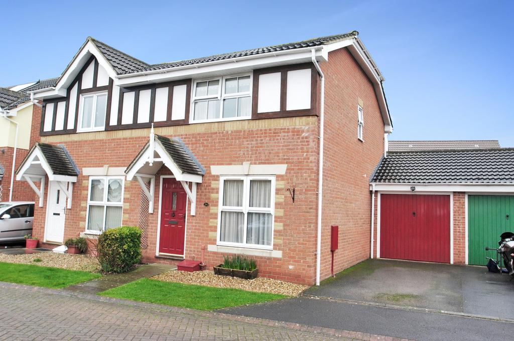 3 Bedrooms Semi Detached House for sale in Compton Close, Taunton