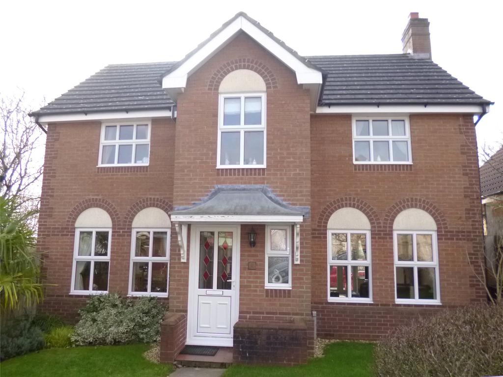 4 Bedrooms Detached House for sale in Bowdler Close, Ludlow, Shropshire