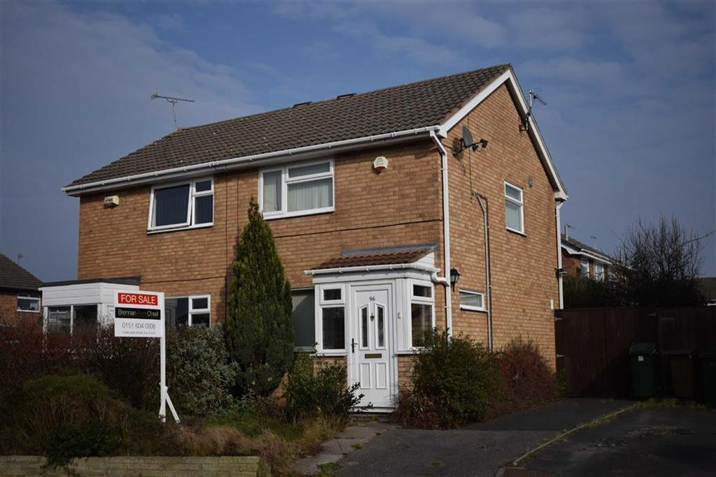 2 Bedrooms Semi Detached House for sale in Millhouse Lane, CH46