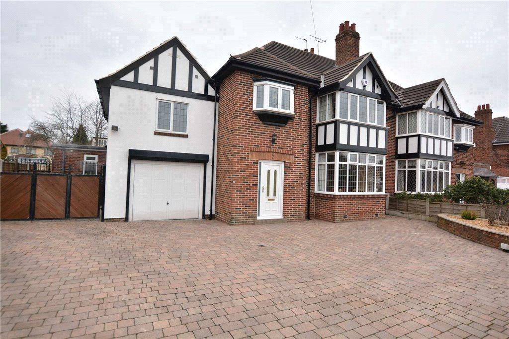 5 Bedrooms Semi Detached House for sale in Whinmoor Gardens, Leeds