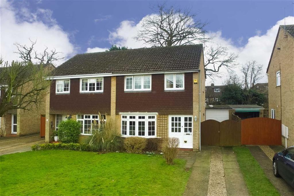 3 Bedrooms Semi Detached House for sale in Alzey Gardens, Harpenden, Hertfordshire, AL5