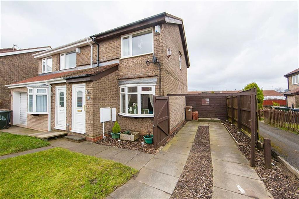 2 Bedrooms Semi Detached House for sale in Chelford Close, Hadrian Park, Wallsend, NE28