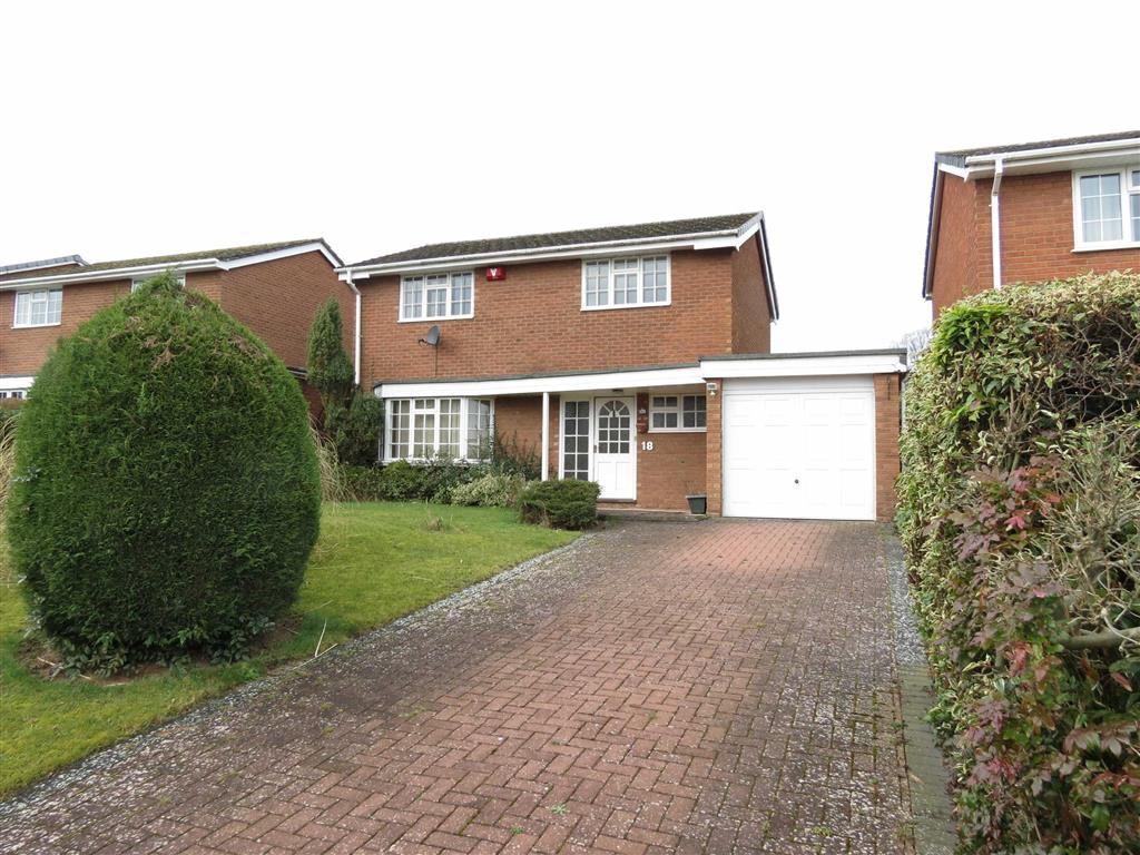 3 Bedrooms Detached House for sale in St James Road, Shrewsbury, Shropshire