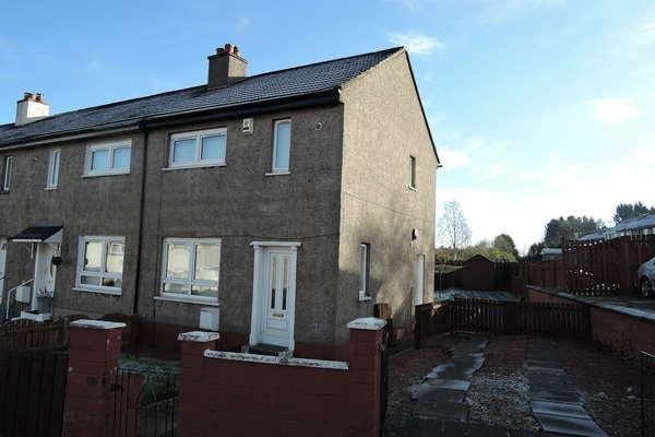 2 Bedrooms End Of Terrace House for sale in 35 Clarkwell Road, Hamilton, ML3 9SB