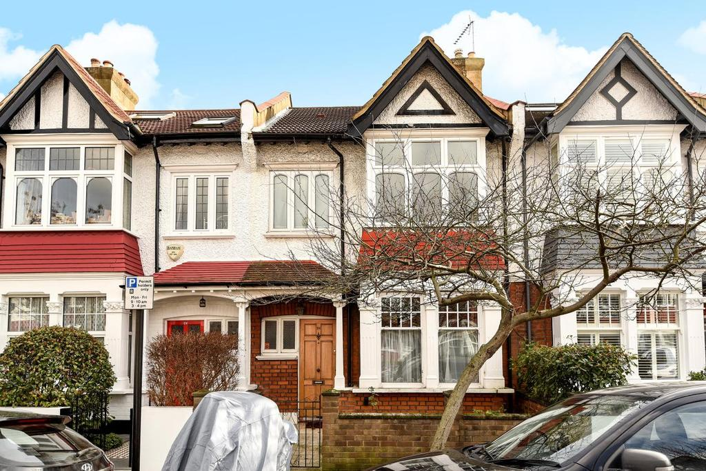3 Bedrooms Terraced House for sale in Hamilton Road, Chiswick, W4