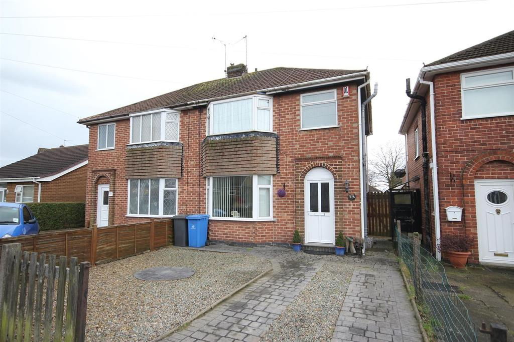 3 Bedrooms Semi Detached House for sale in Windsor Drive, Spondon, Derby
