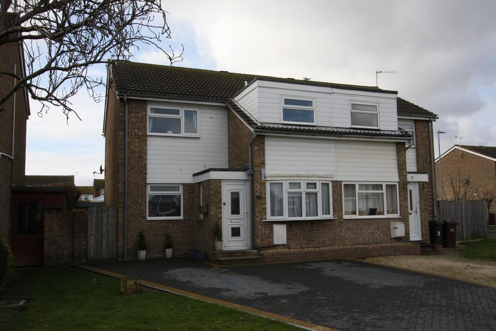 3 Bedrooms Semi Detached House for sale in Badlesmere Road, Eastbourne BN22