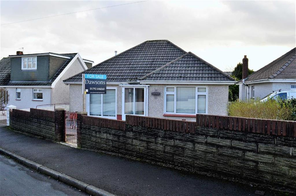 3 Bedrooms Detached Bungalow for sale in Gendros Close, Swansea, SA5