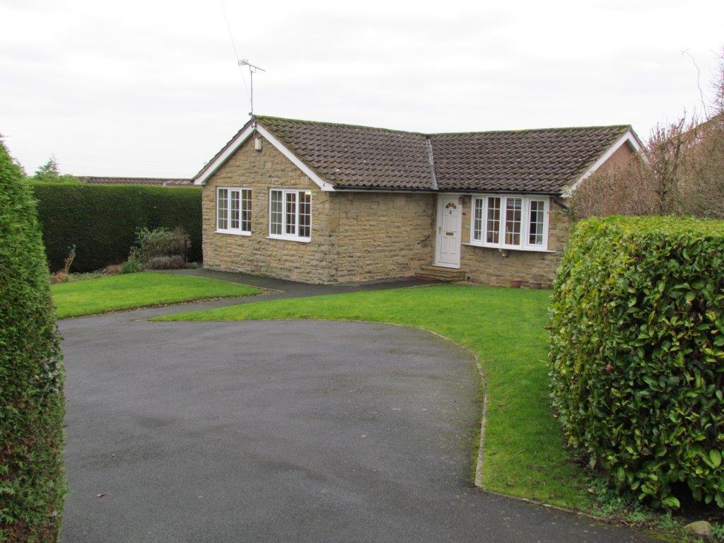 3 Bedrooms Detached Bungalow for sale in Ash Grove, Kirkbymoorside, York