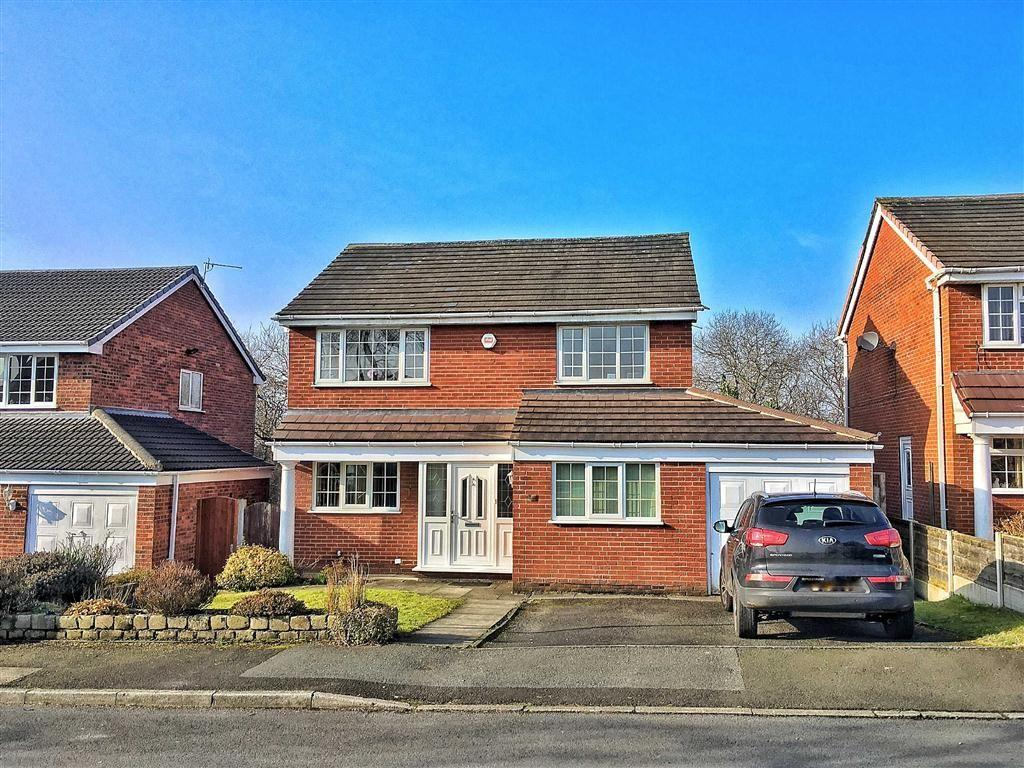 4 Bedrooms Detached House for sale in Peterborough Close, Ashton-under-lyne, Lancashire, OL6