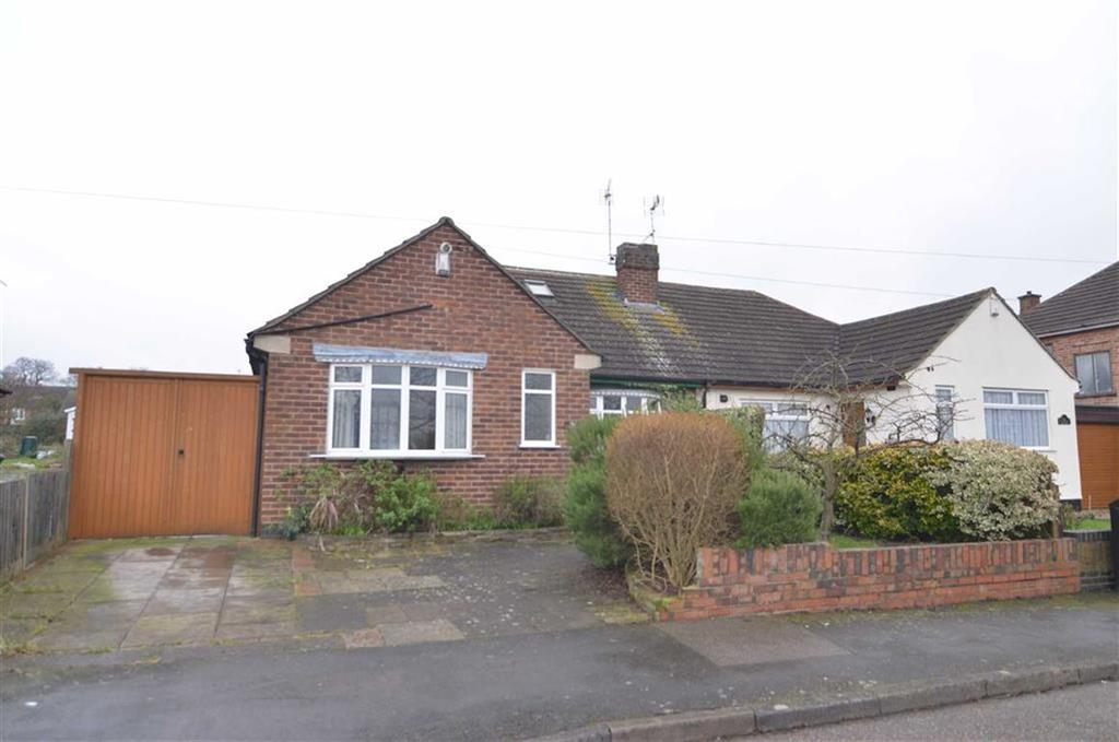 2 Bedrooms Semi Detached Bungalow for sale in Kingsway North, Braunstone Town