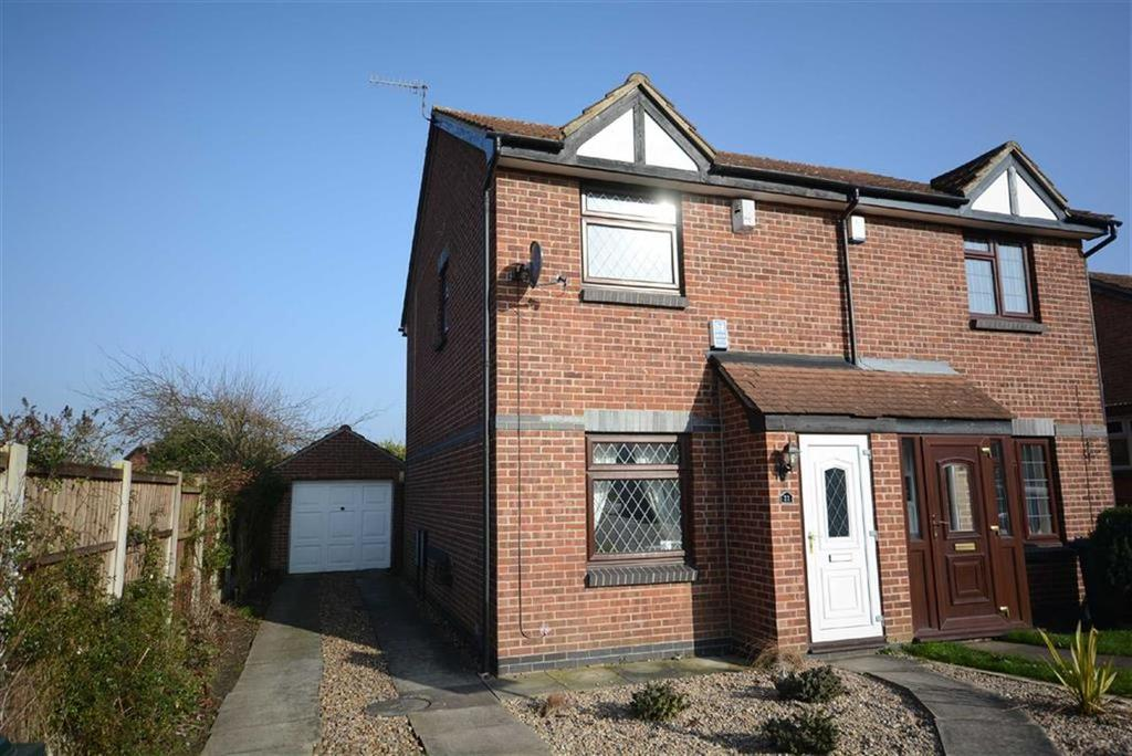 2 Bedrooms Semi Detached House for sale in Wisley Close, West Bridgford
