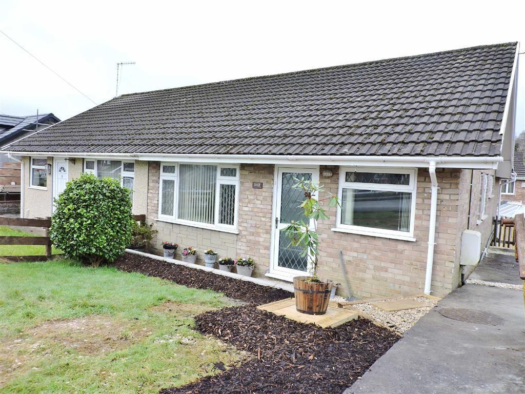 3 Bedrooms Semi Detached Bungalow for sale in Delffordd, Rhos, Pontardawe