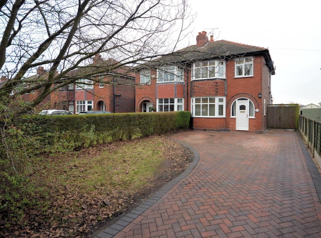 3 Bedrooms Semi Detached House for sale in Abbey Road, Sandbach