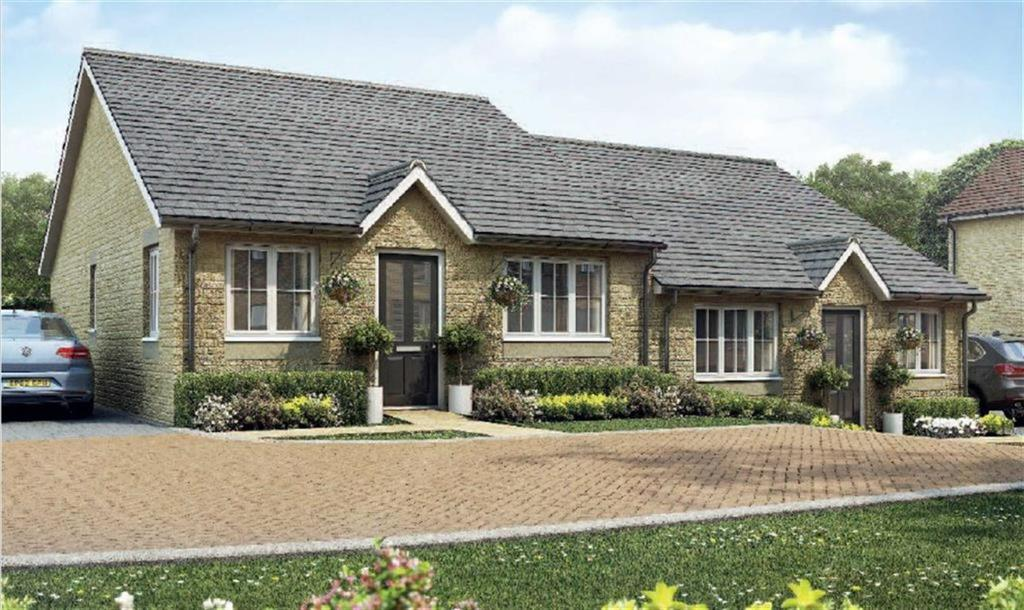 2 Bedrooms Semi Detached Bungalow for sale in Woodside Lane, King's Stanley, Gloucestershire