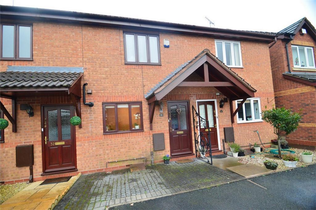 2 Bedrooms Terraced House for sale in Tabbs Gardens, Kidderminster, Worcestershire
