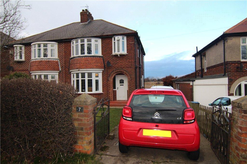 3 Bedrooms Semi Detached House for sale in Sniperley Grove, Durham, DH1