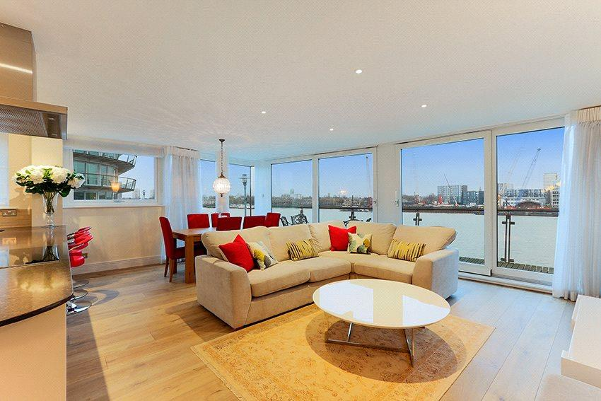 2 Bedrooms Flat for sale in Cinnabar Wharf Central, 24 Wapping High Street, London, E1W