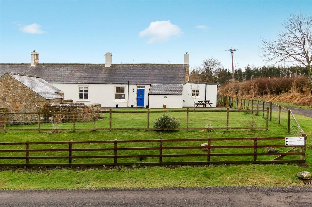 2 Bedrooms Cottage House for sale in Cuthbert Cottage, Hetton Hall, Chatton, Northumberland