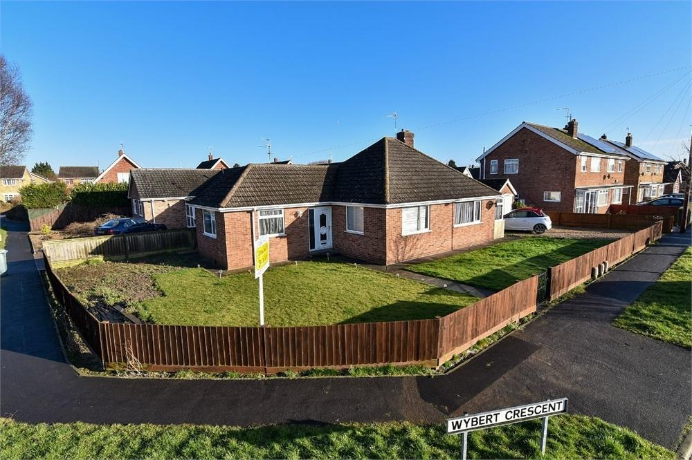 3 Bedrooms Detached Bungalow for sale in Wybert Crescent, Boston, Lincolnshire