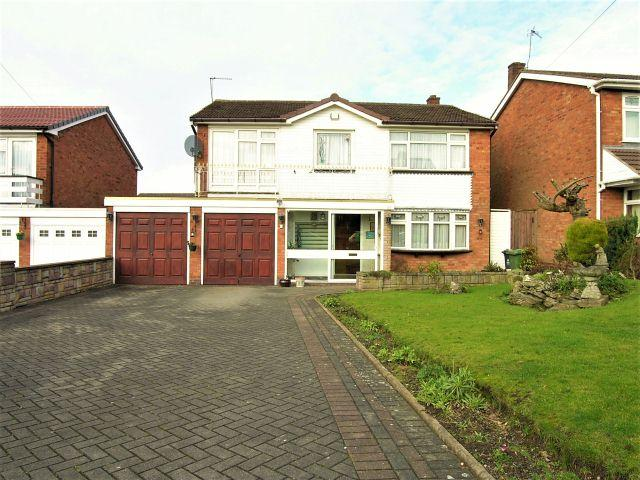 4 Bedrooms Detached House for sale in Park Hall Road,Walsall,West Midlands