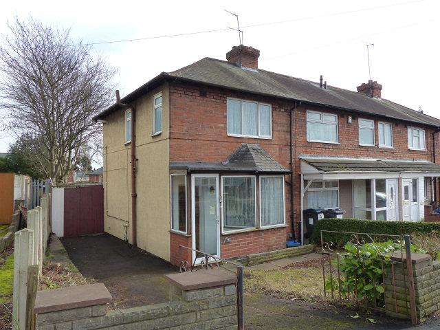 2 Bedrooms End Of Terrace House for sale in Round Road,Erdington,Birmingham