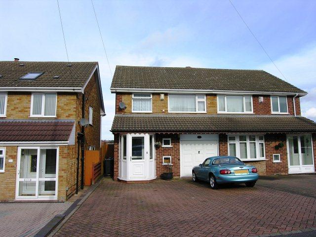 3 Bedrooms Semi Detached House for sale in Wideacre Drive,Great Barr,Birmingham