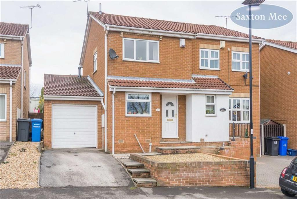3 Bedrooms Semi Detached House for sale in Dowland Avenue, High Green, Sheffield, S35