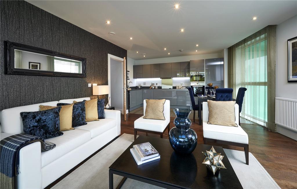 2 Bedrooms Apartment Flat for sale in Emerald Gardens, Kew, TW9