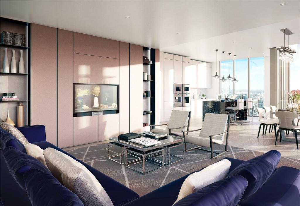 3 Bedrooms Apartment Flat for sale in Alexander Wharf, London Dock, E1W