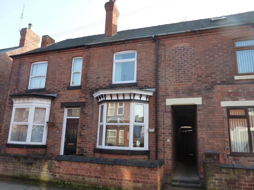 3 Bedrooms Terraced House for sale in Century Road, Retford, Notts.