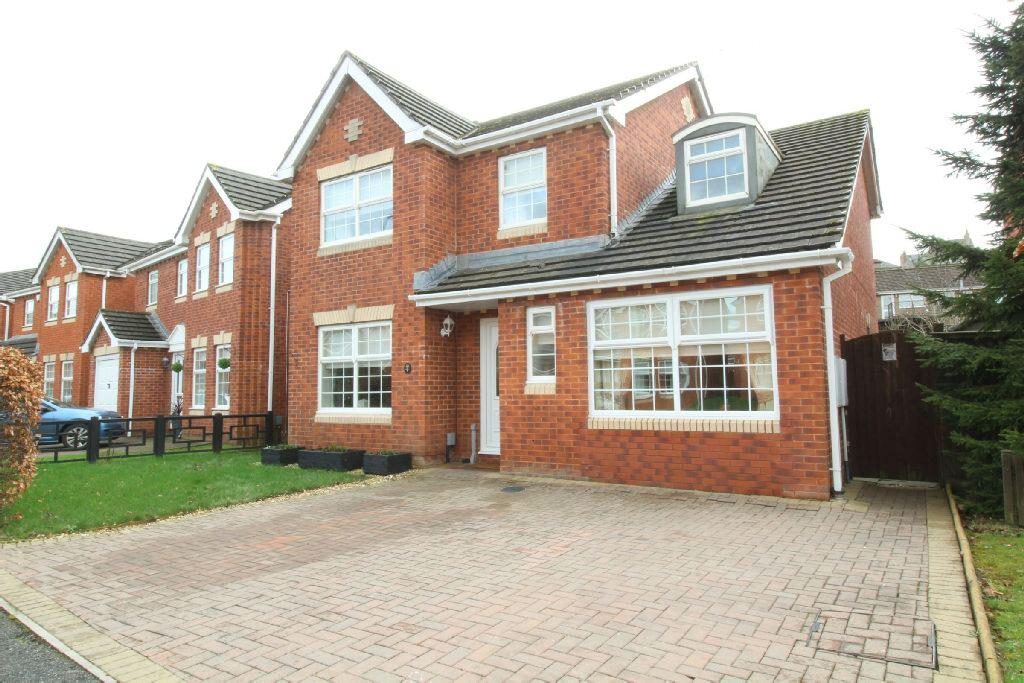 4 Bedrooms Detached House for sale in Cutter Close, The Moorings, Newport
