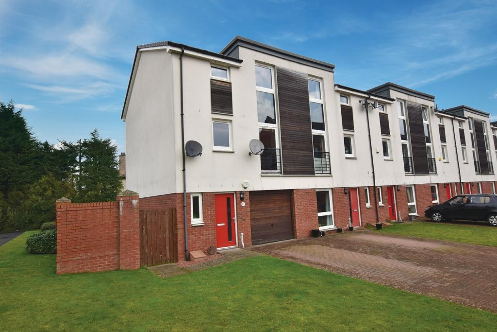 3 Bedrooms Town House for sale in 1 Craigend Close, Anniesland, G13 2TZ