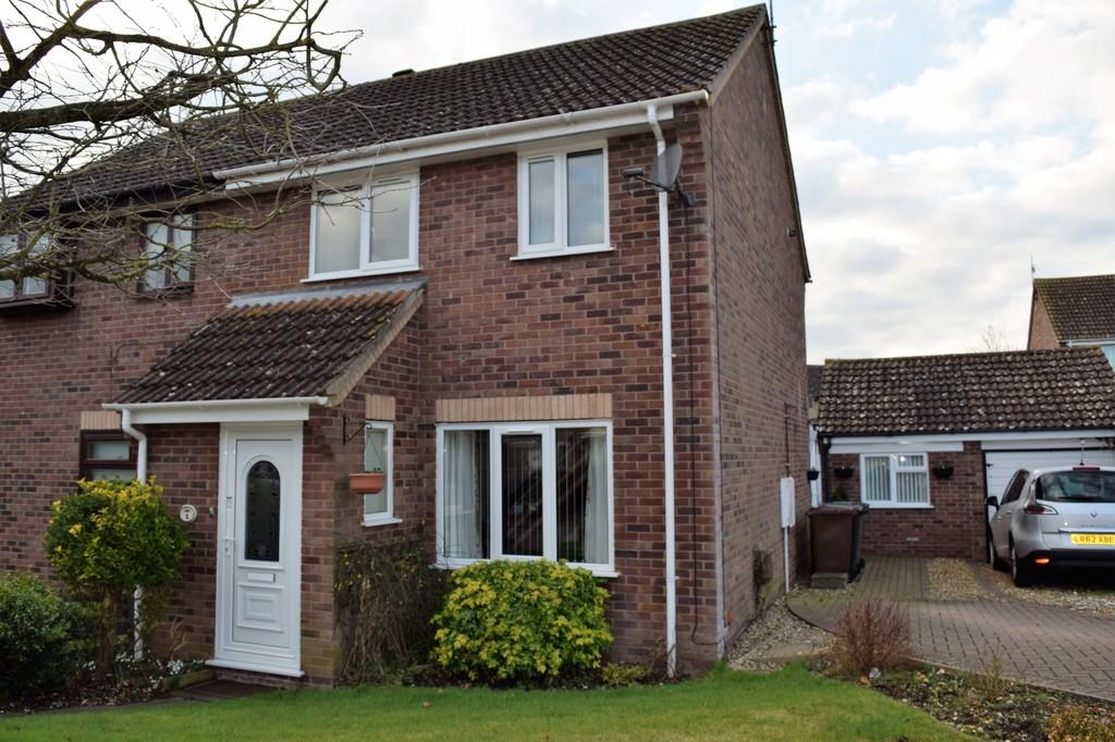 4 Bedrooms Semi Detached House for sale in Blackthorn Close, Thetford