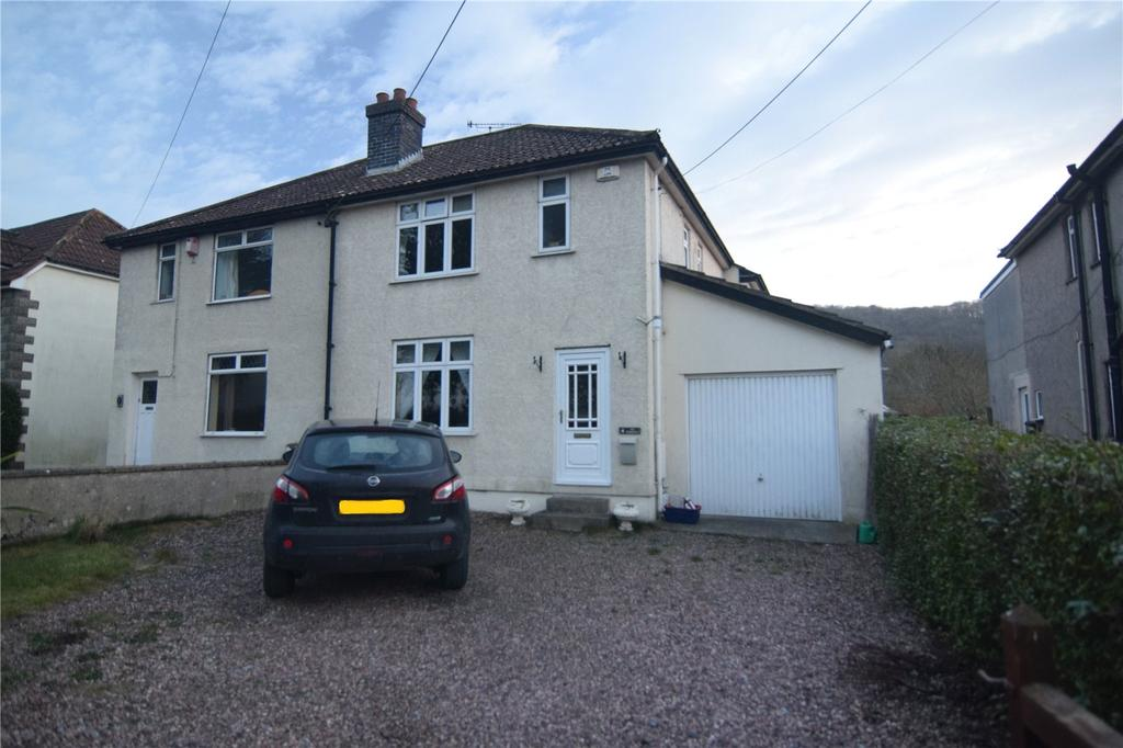 3 Bedrooms Semi Detached House for sale in The Paddocks, Greenhill Road, Sandford, North Somerset, BS25