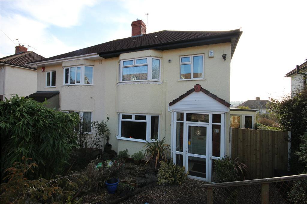 3 Bedrooms Semi Detached House for sale in Kelston Road, Westbury-On-Trym, Bristol, BS10